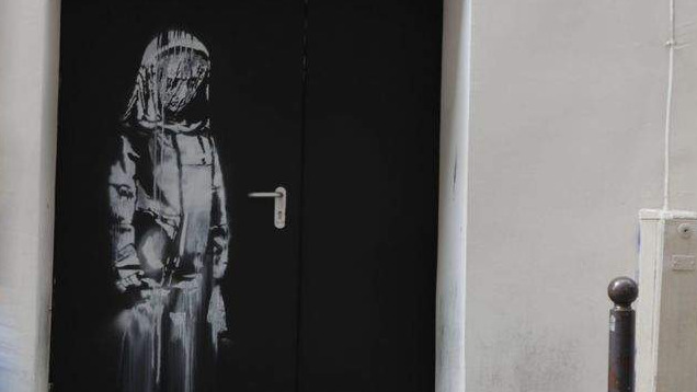 Banksy Mural of Sad-Faced Girl Stolen in Paris
